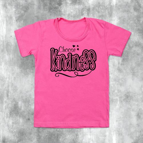 Choose kindness pink