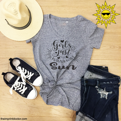 Girls Wanna have Sun Tshirt