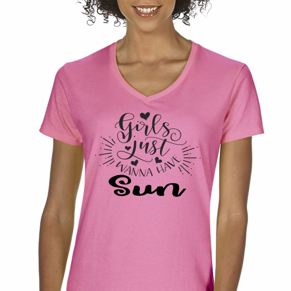 Girls Wanna Have Sun Pink