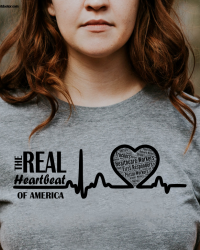 The REAL Heartbeat of America Tee