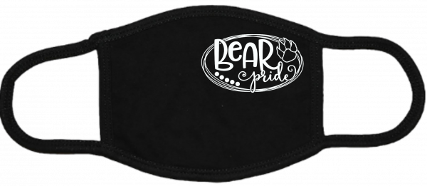 Bear Pride Black Mask