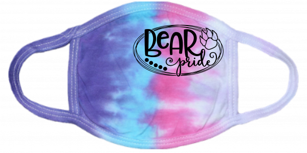 Bear Pride Cotton Candy Mask