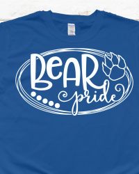 LE100-Bear Pride T-shirt