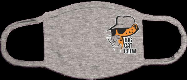 Big Cat Crew Mask Gray