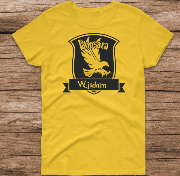 Boosara Yellow with Black
