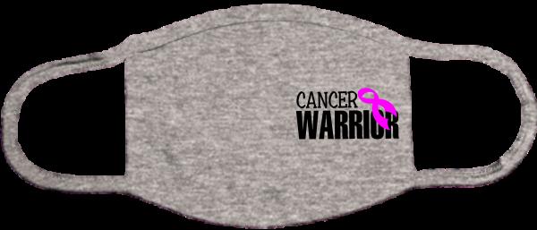 Cancer Warrior Black Mask