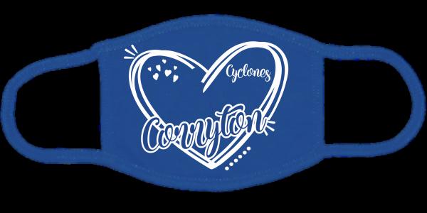 Corryton Heart Face Mask