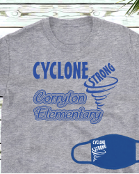 CE105 Cyclone Strong T-shirt/Mask Combo