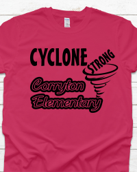 CE103 Cyclone Strong T-shirt