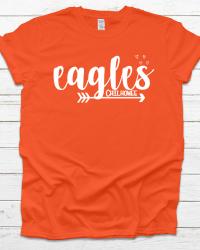 CI106-Eagles Arrow & Hearts T-shirt