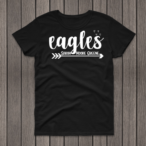Eagles SMG Black Tee