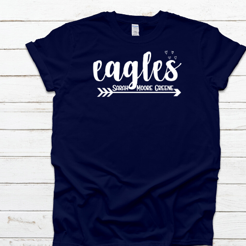 Eagles SMG Navy Tee