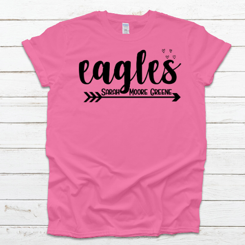 Eagles SMG Pink Tee