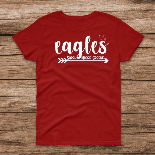 Eagles SMG Red Tee