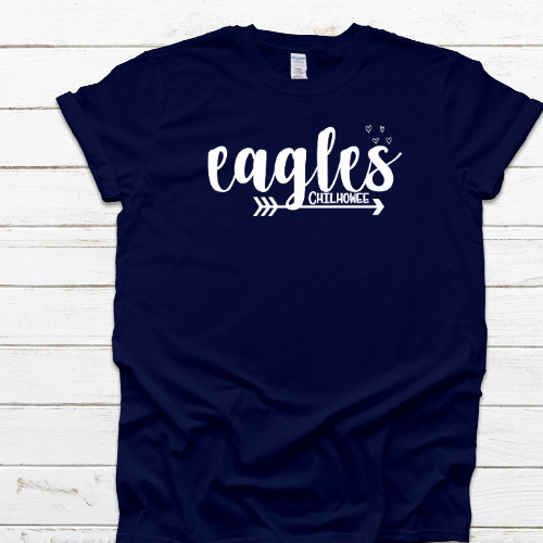 EaglesChilh Navy Tee