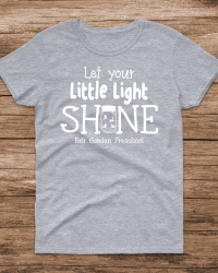 FG106-Fair Garden Little Light Shine Tshirt