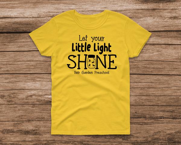 FG Little Light Yellow Tee