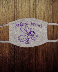 FG101-Fair Garden Preschool Face Mask
