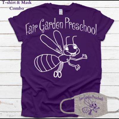Fair Garden Tee/Mask Combo