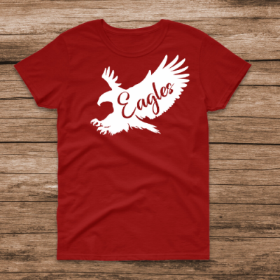 Flying Eagle Red Tee