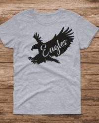 SMG100-Flying Eagle T-shirt