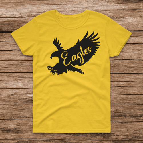 Flying Eagle Yellow Tee