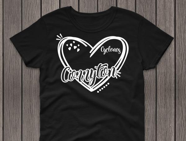 Heart Corryton Black