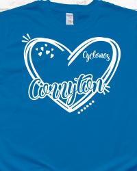 CE106 Corryton Heart T-shirt
