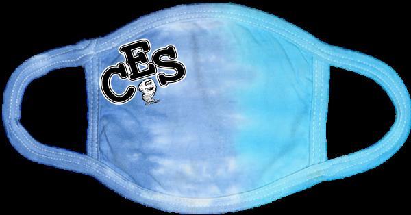CES Tie Dye Face Mask