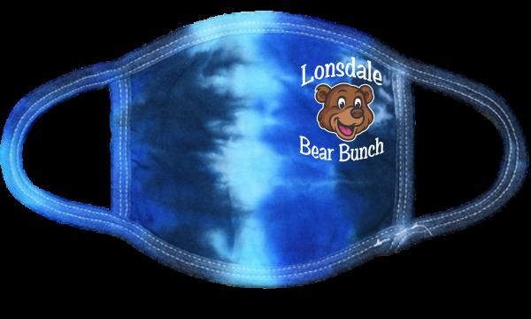Lonsdale Bear Bunch Blue TD Mask