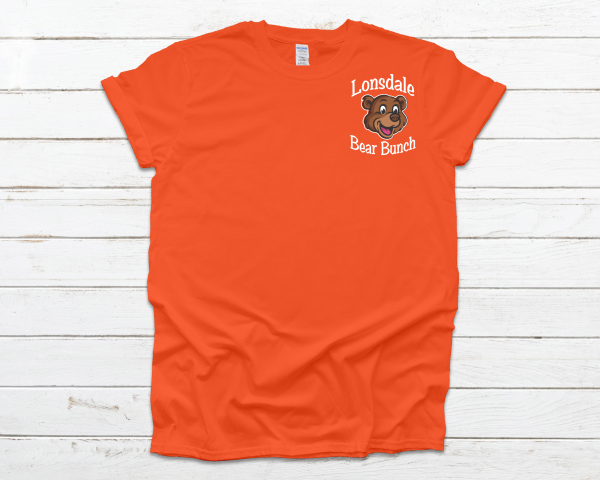 Lonsdale Bear Bunch Orange