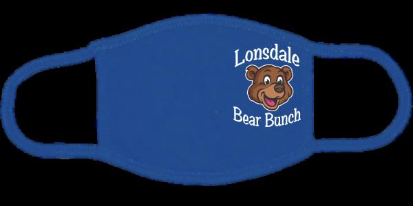 Lonsdale Bear Bunch Royal Mask