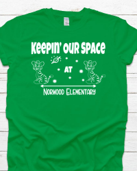 NE107-Keepin' Our Space T-shirt