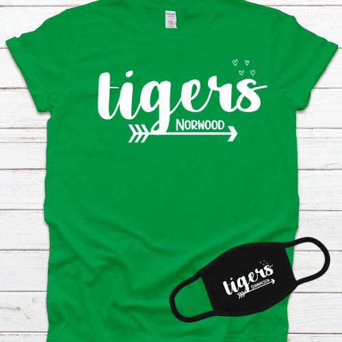 NE Tiger Arrow & Hearts Combo