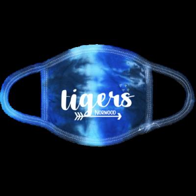 NE Tigers Blue TD Mask