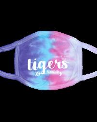 NE101- Tigers Arrow & Hearts Face Mask