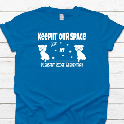 PR Keepin Our Space Sapphire Tee