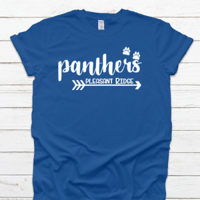 PR Panthers Arrow Royal Tee
