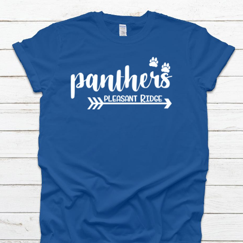 PR Panthers Arrow Royal Tee