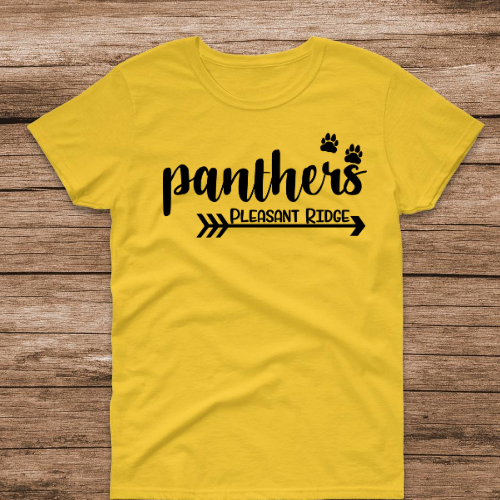 PR Panthers Arrow Yellow