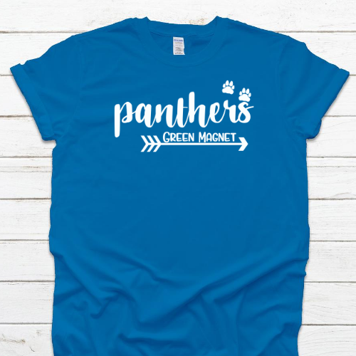 Panthers Sapphire w white
