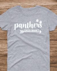 GM100-Panthers Arrow & Paw T-shirt