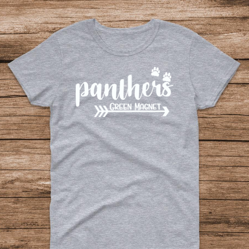 Panthers Sp Gray w white
