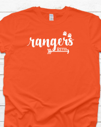 RE100-Rangers Arrow & Paw T-shirt