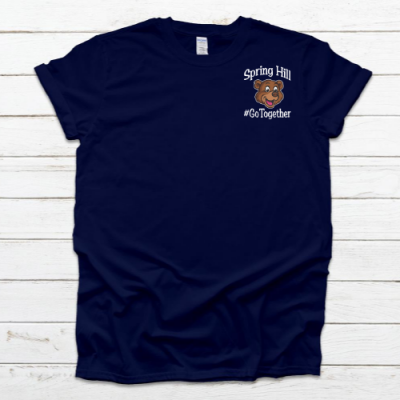 SH GoTogether Navy Tee