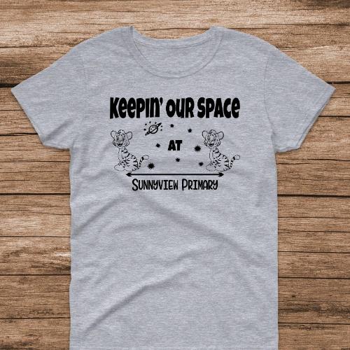 SP Keep Space Sports Gray Tee