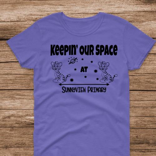 SP Keep Space Violet Tee