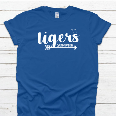 SP Tigers Royal Tee