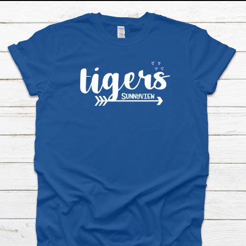 SP Tigers Royal Tee