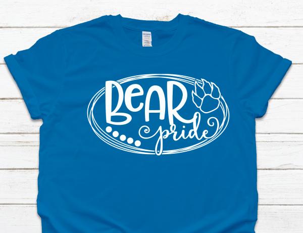 Bear Pride Sapphire Tee